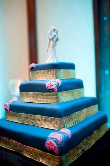 Indian-inspired Wedding Cake