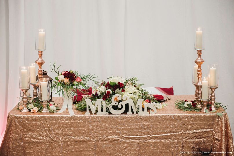 Sweetheart Table YNOT iMages