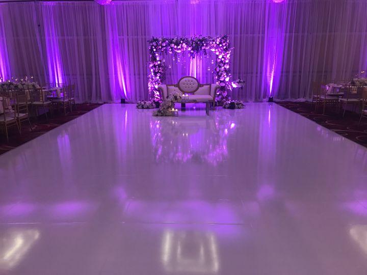 Tmx White Wrapped Dancefloor 51 990676 Lakeside, CA wedding eventproduction