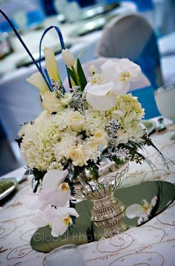 center piece for reception tables