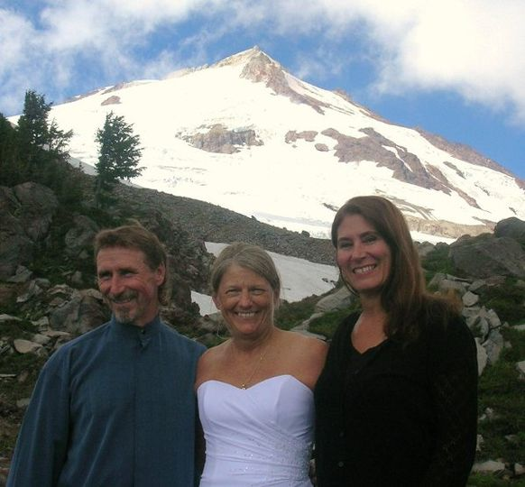 Mountain top wedding, Mt. Baker