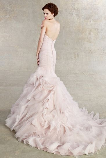 Kitty Chen Ginger gown in Ice Pink at A Princess Bride Couture