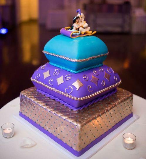 A Whole New World Aladdin cake
