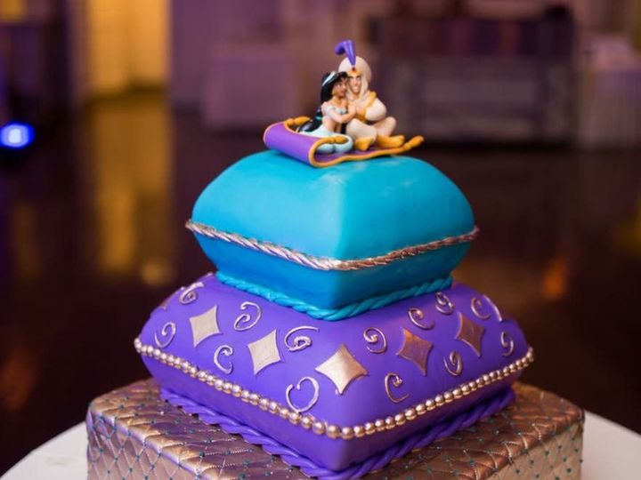 Tmx 1519591452 383f09cef6d35664 1519591451 1c0fbaa49f1cef4e 1519591451827 3 Aladdin Bloomfield, NJ wedding cake