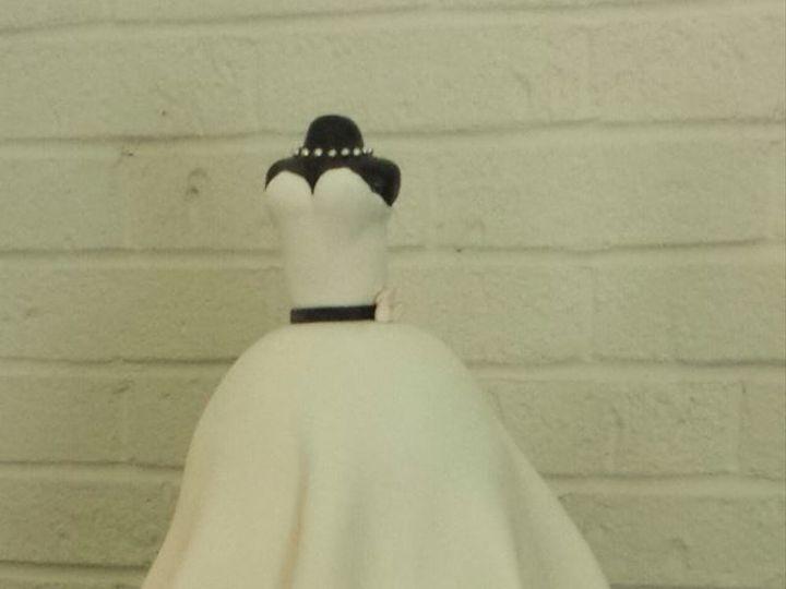 Tmx 1519591459 4489fdc8ef0e5ae4 1519591458 261a97fa94ff851f 1519591458244 5 Bridal Gown Cake Bloomfield, NJ wedding cake