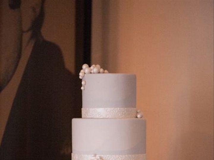 Tmx 1519591490 Ef3ecb64bb3dae29 1519591490 22bc9e0881454b30 1519591490179 13 Pearl   Lace Cake Bloomfield, NJ wedding cake