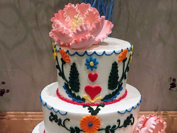 Tmx 1531246274 6601011cc8847d99 1531246272 7aa81587e6064940 1531246272640 1 Cinco De Mayo Wedd Bloomfield, NJ wedding cake