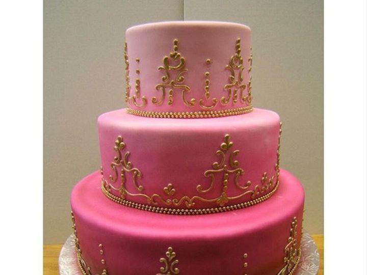 Tmx 1531246295 542ea5eb58f63db8 1531246294 Ec9dbe769c4a5afd 1531246294374 2 Pretty In Pink Bloomfield, NJ wedding cake