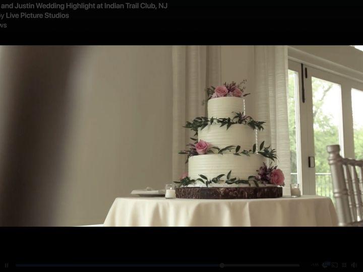 Tmx Jennifer Justin Wedding Cake 01 51 603676 Bloomfield, NJ wedding cake