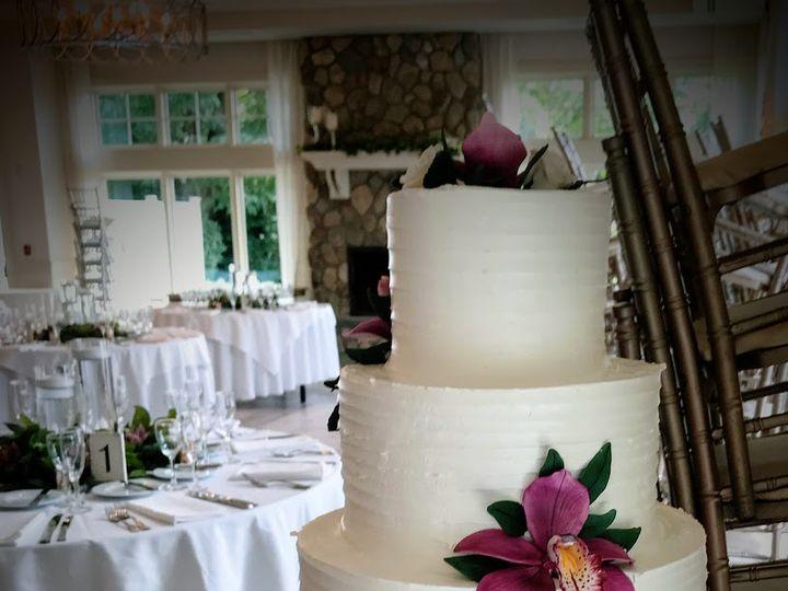 Tmx Pink Flower Tower 51 603676 Bloomfield, NJ wedding cake