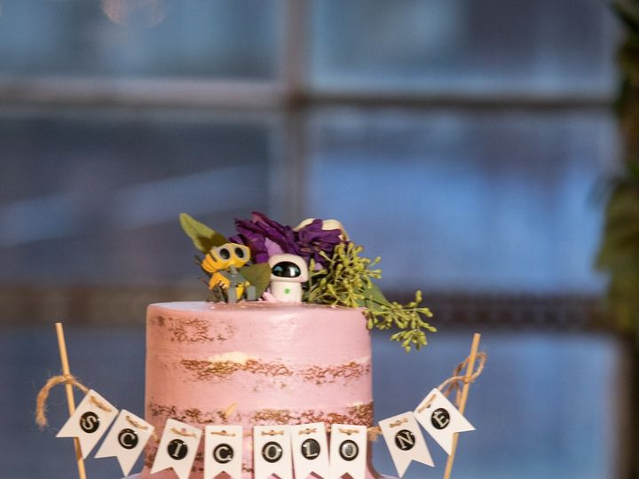 Tmx Pink Naked Cake Amy James 01 Rebeccaferrierphotography 003 51 603676 158154815852865 Bloomfield, NJ wedding cake