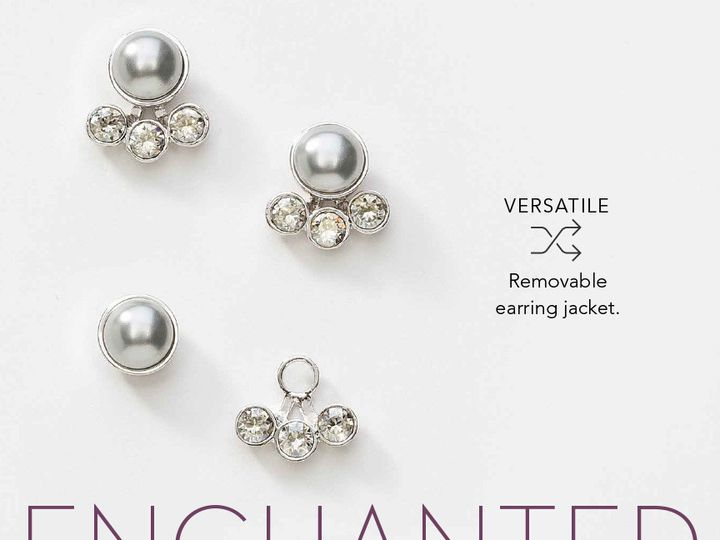 Tmx 1441654625052 Enchantedearrings Clearwater wedding jewelry