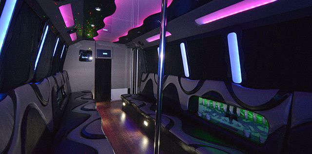 pick a limo party bus 4