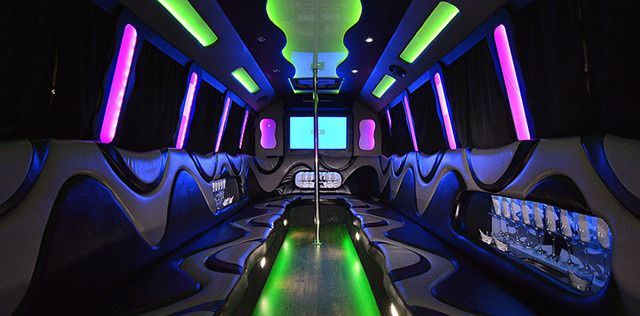Tmx 1421962722175 Pick A Limo Party Bus 5 Newtown wedding transportation