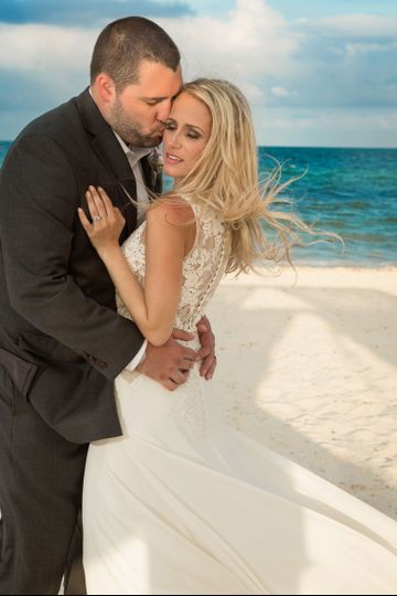 Kirstin and Brenden Slotter, Cancun Mexico Wedding, April 24, 2017