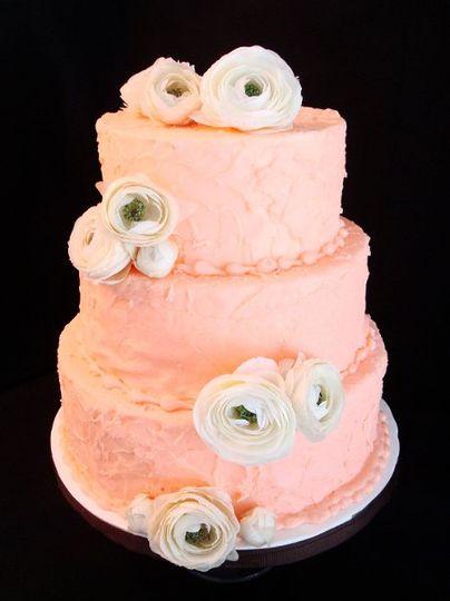 pinkflowerweddingcake014