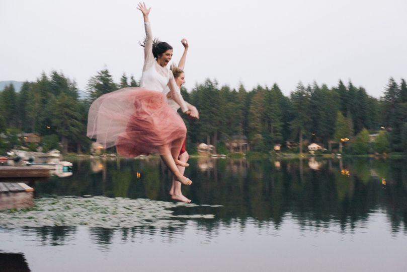 Lake Retreat Wedding