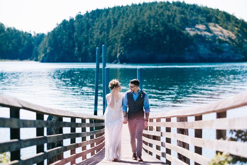 Rosario Beach Wedding