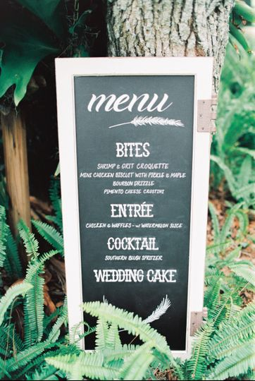 Menus tailored for you