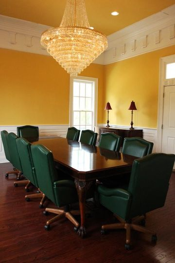 Host your next corporate meeting in our conference room.