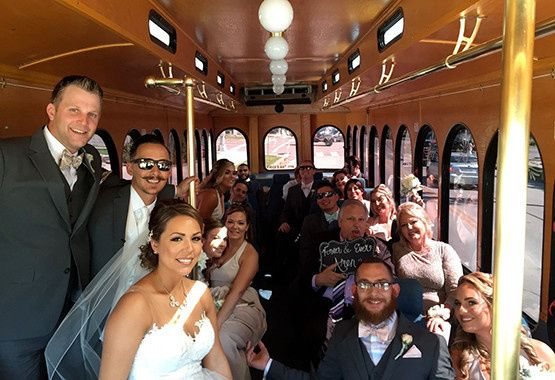 Tmx 1472758922528 Wedding Trolley 2 Galveston wedding transportation