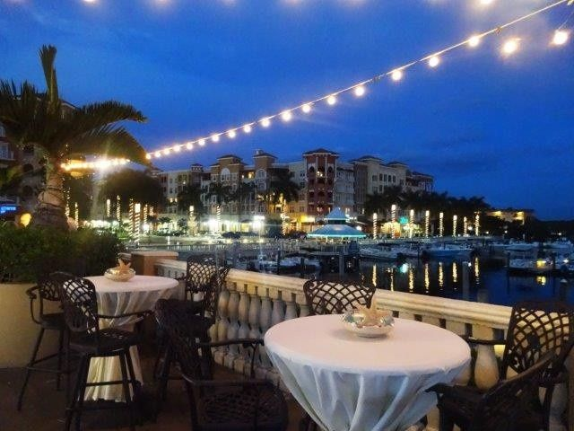 Tmx 1415640448875 Terrace At Night 680x Naples, FL wedding venue