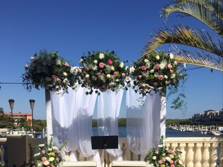 Tmx 1509983873599 Floral Arch Naples, FL wedding venue