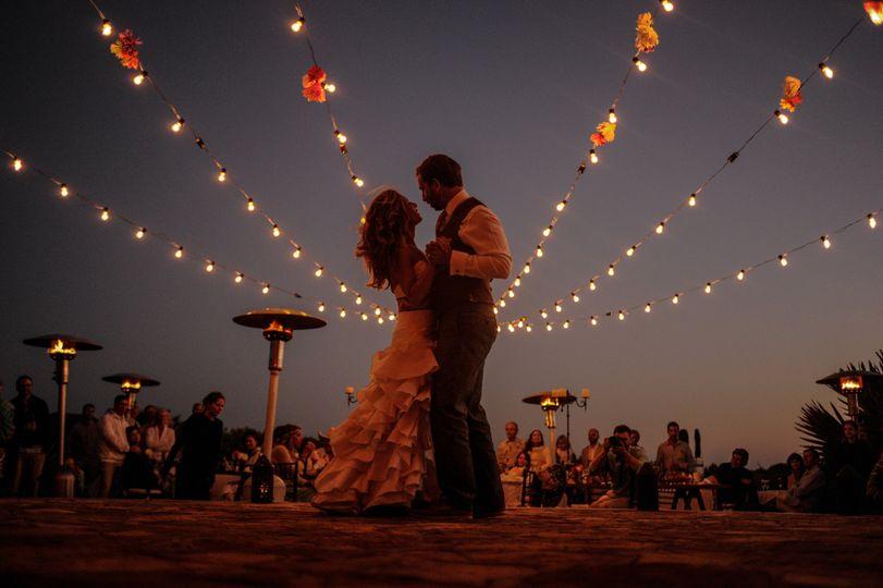 On the dance floor - Villa Santa Cruz