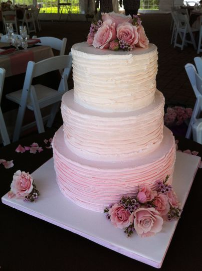 capitol sweetspink ombre cake