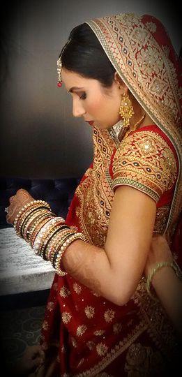 Calm bride