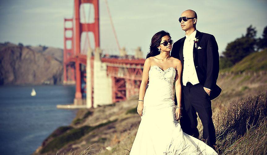golden gate wedding