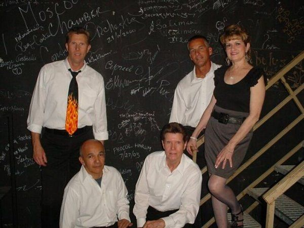 Backstage with all the great stars' signatures, at Scottsdale Performing Arts