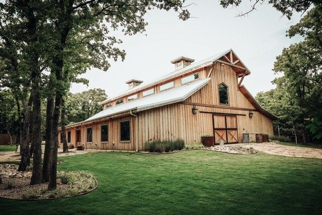 Side of the barn