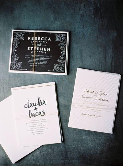 Invite cards