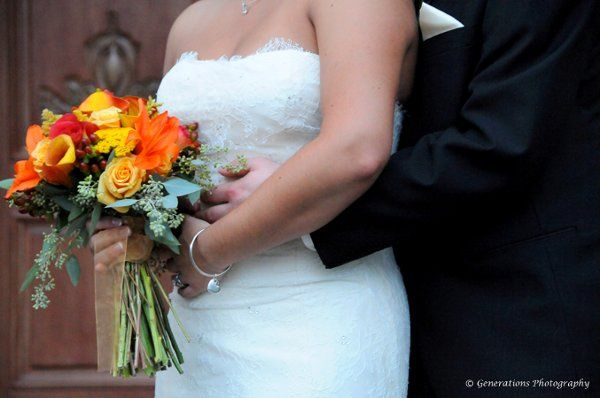 Kraig Wedding, October 2009.  Photo courtesy of Generations Photography.
