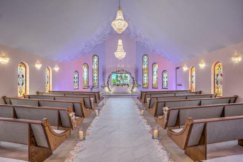 THE Wedding Chapel decor