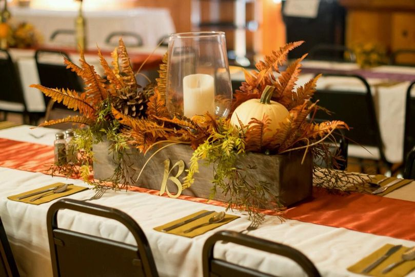 Table decor and centerpiece