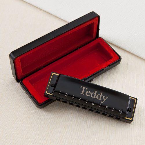 Engraved harmonica, perfect for Groomsmen!