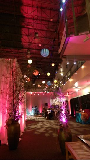 East Meets West Themed Wedding