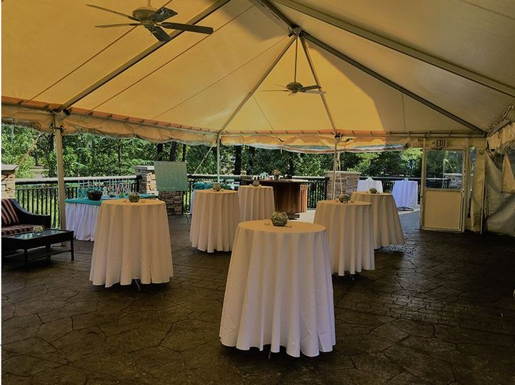 Marquee reception venue