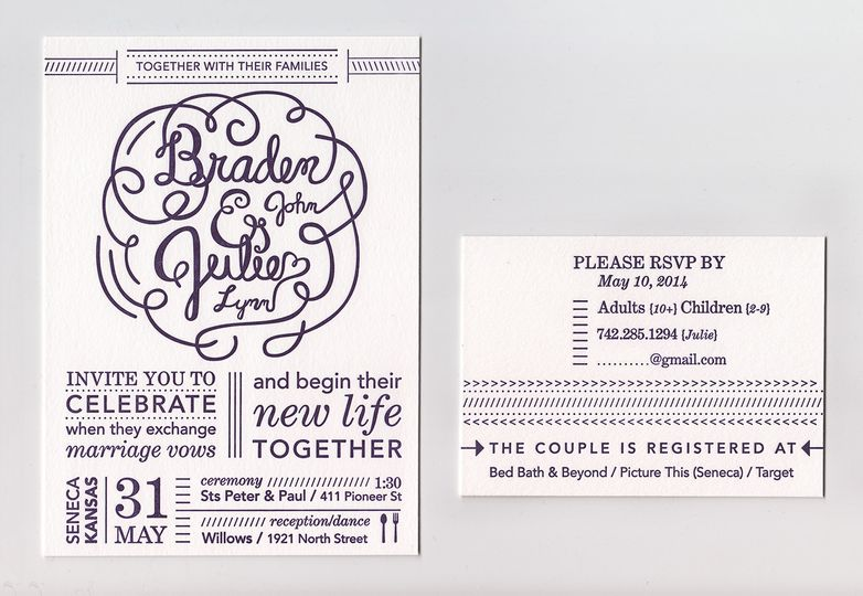Design: Julie SperflegeLetterpress Printing: Two Crow Pressfor more information please visit...