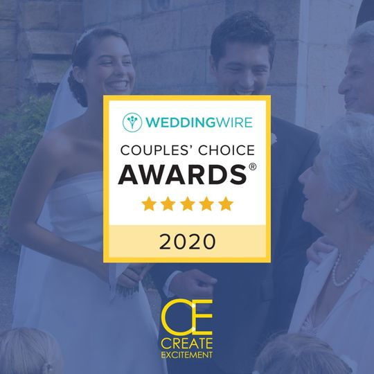 2020 Wedding DJ Award Winner
