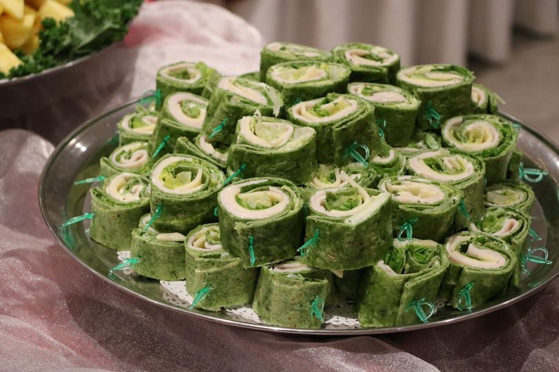 AAC Catering Spinach Wrap