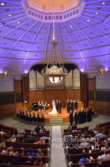 Grand Hall Wedding Ceremony