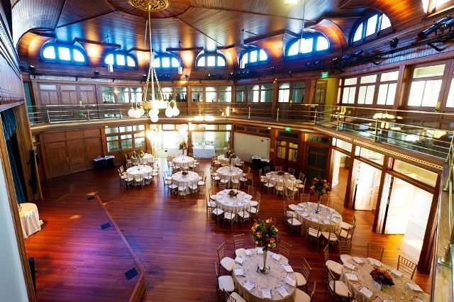 Cook Theater Wedding Reception