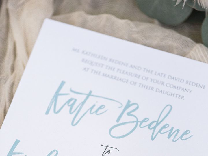 Tmx 1510068302952 Katiekylewedding0916170088 West Des Moines wedding invitation