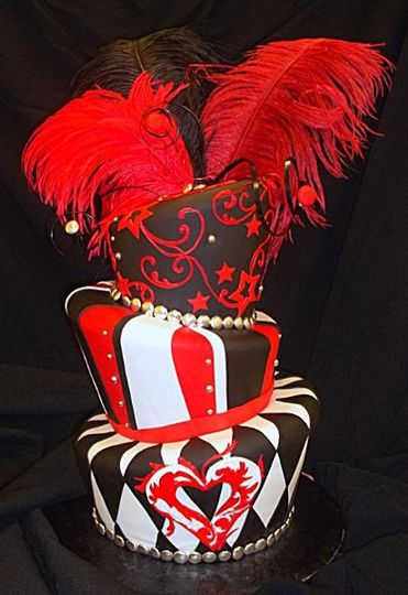 Black, White and Red Madhatter