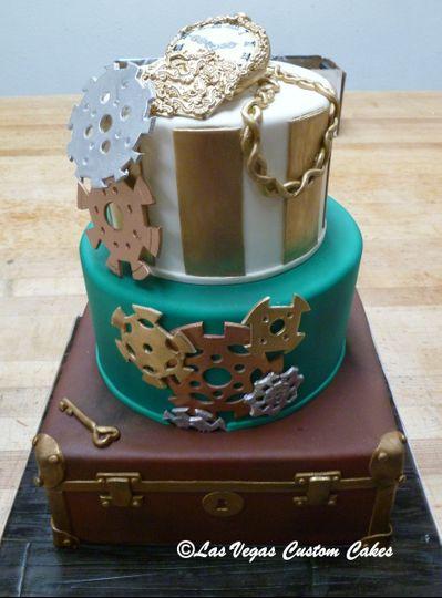 Steam Punk Custom Cake