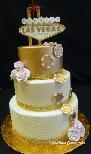 wedding vegas gold 3 tier