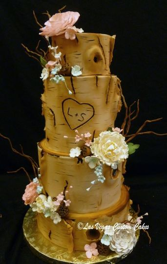 wedding aspen with floral twigs 508x800